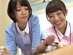 朝倉ことみ あゆな虹恋 優しい笑顔でちんこイジってくれちゃう泌尿器科のナースのお仕事は下半身のお悩み相談