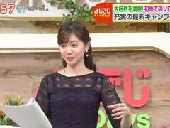 テレ東・田中瞳アナ、パッツパツになってるおっぱい。