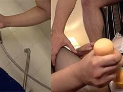 スケスケのシースルーブラウスにシャワーで濡らして志田雪奈ちゃんとスケフェチOLSEX!