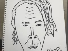 【画像】みるるん画伯が書いたAKIRA先生と1期の似顔絵が似てて絵の才能あると話題にwwwww