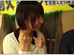 【湊莉久】真面目な素人男にフェラ&手コキで凄テク企画!