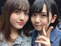 【画像】AKB48田口愛佳が大和田南那とのツーショットを公開!!