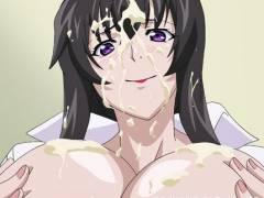 [エロアニメ] 裸ワイシャツのエロい人妻に誘惑されたら我慢できない! (アマネェ!)