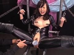 横山夏希 敵の手に落ちたエリートスパイが拘束バイブ拷問!