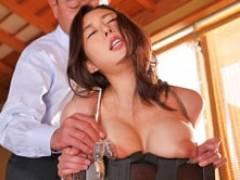 執拗な乳輪責めに吐息を漏らし緊縛のまま肉体奉仕する巨乳妻! 松下紗栄子