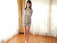 【貧乳】星咲せいら ウエスト50cmって…。ガリスレンダー美少女のAV出演