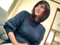 清塚那奈 セックスレスの人妻に媚薬を飲ませてセンズリを見せつける!
