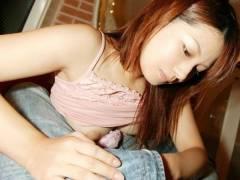 【性的欲求マックス時は業務的でも手コキして欲しい】エロ画像22枚