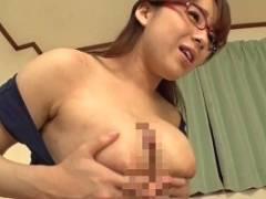 三島奈津子 挑発しまくり爆乳デカ尻家庭教師のパイズリ責めと中出しセックス!