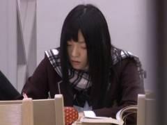図書館で受験勉強中のJKを狙ったチ●ンレ●プ事件の一部始終!