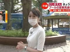 TBS良原安美アナの横乳がエロすぎる。